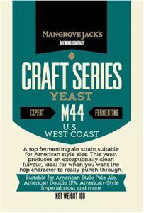 Billede af US West Coast M44 - Brev med 10 gram - kan erstattes af American ale yeast