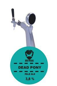 Billede af Brewdog Dead Pony Pale Ale 30 l kk