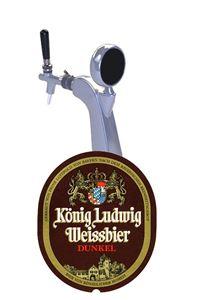Billede af König Ludwig Dunkel Weissbier 30 ltr