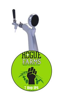 Billede af Rogue 7-Hop IPA 20L KK