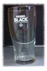 Billede af Glas Brains Black 1/1 pint .