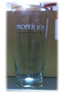 Billede af Glas Proper Job 1/1 Pint