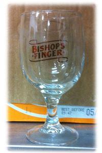 Billede af Glas Bishops Finger Stilk ½ Pint