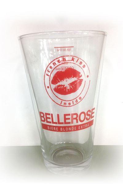 Billede af Bellerose glas 1/2 pint