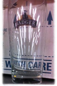 Billede af Glas Badger 1/1 pint .