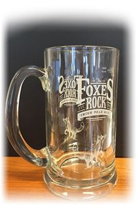 Billede af Glas Foxes Rock krus 1/1 pint