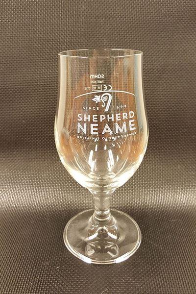Billede af Glas Shepherd Neame 1/2 pint på stilk