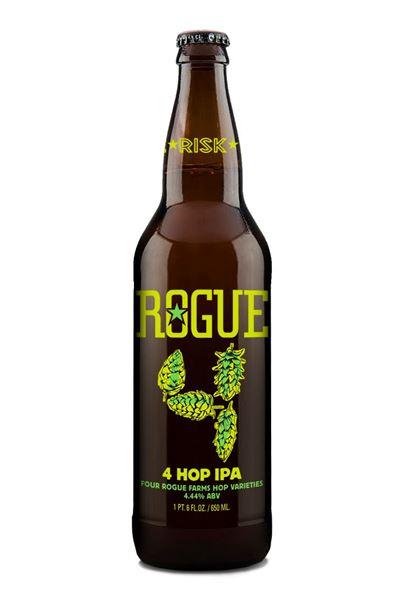 Billede af Rogue 4-Hop IPA 650ml