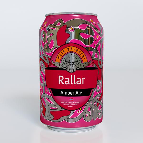 Ægir Rallar Amber Ale