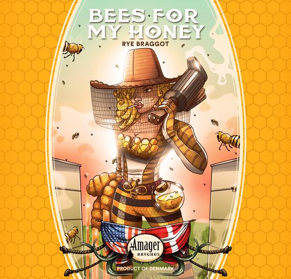 Brewery Bees For My Honey Rye Braggot