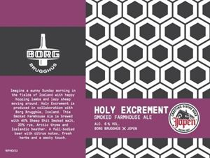 Jopen Holy Excrement - Smoked Farmhouse Ale
