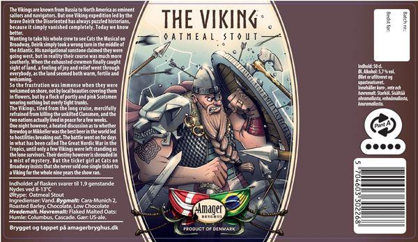 Billede af The Viking Oatmeal stout - Amager bryghus