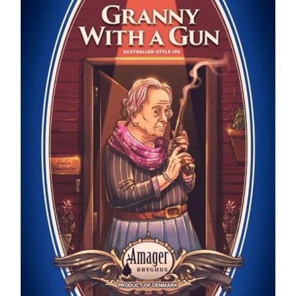 Billede af Granny with a gun Australien style IPA - Amager bryghus