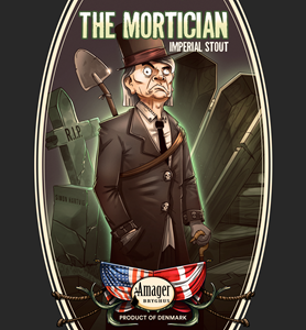 Billede af The Mortician Imperial Stout - Amager bryghus
