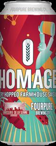 Billede af Homage dry hopped Farmhouse saison - Fourpure brewing co