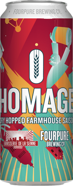 Billede af Homage dry hopped Farmhouse saison - Fourpure brewing co