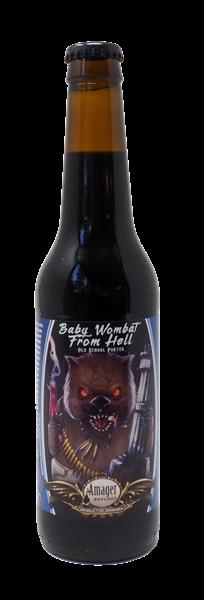 Billede af Baby Wombat from hell 33 cl - amager bryghus