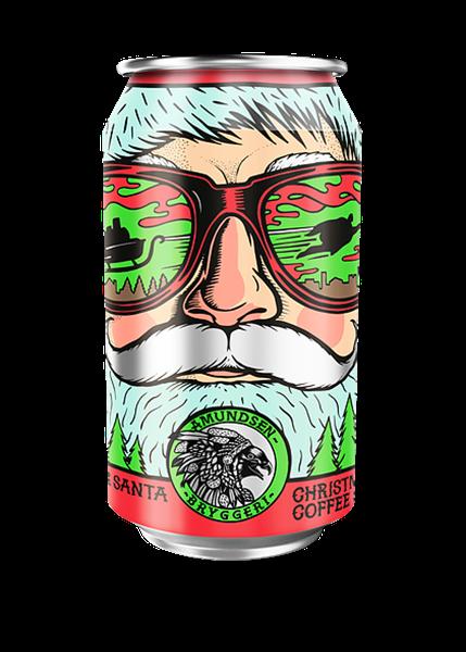 Super Santa Coffee Stout (X-Mas) Fra Amundsen Bryggeri