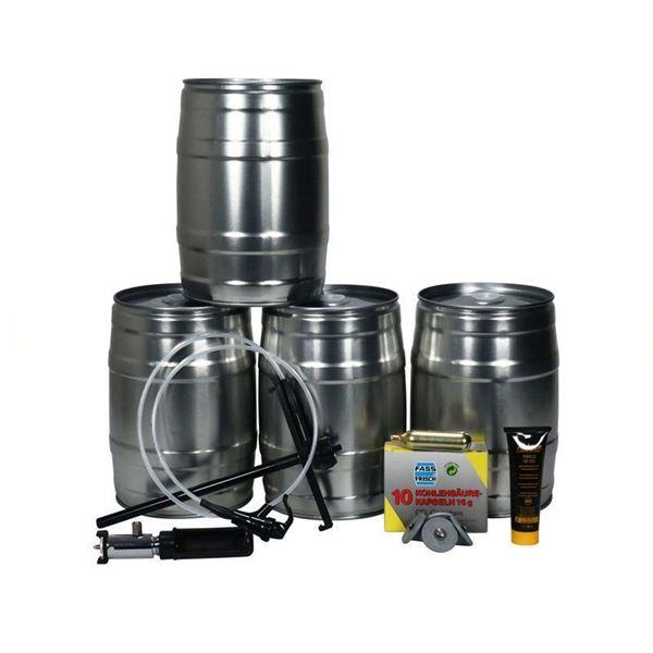 5 Liter Festfad Tappeanlæg Med Picnichane
