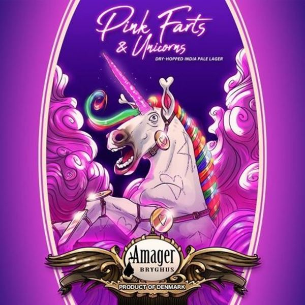 Pink Farts & Unicorn Dry Hopped India Pale Ale 33 Cl - Amager Bryghus