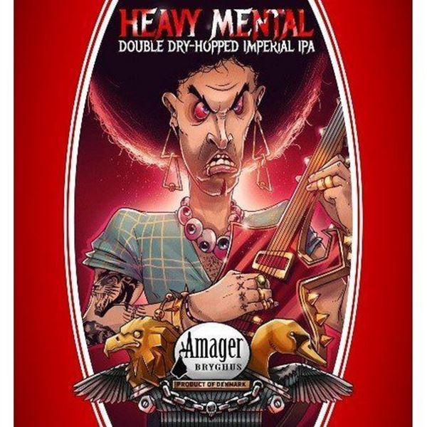 Heavy Mental Double Dry Hopped Imperial Ipa - Amager Bryghus