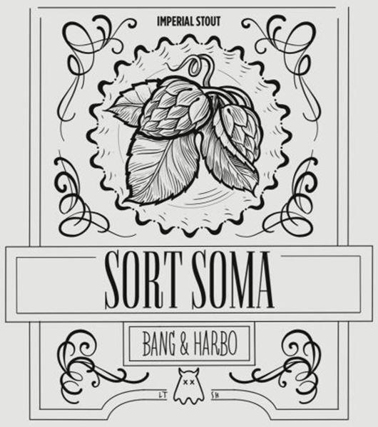 Billede af Sort Soma 50 cl 8,9% - Imperial Stout - Bang og Harbo