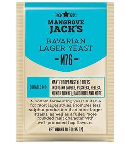 Bavarian Lager ølgær M76 - Brev Med 10 Gram