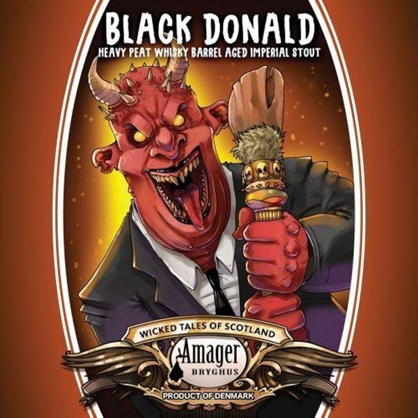 Billede af Black Donald 33 cl- Amager Bryghus