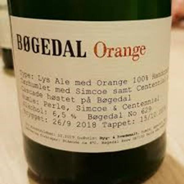 Billede af Bøgedal Orange, 70 cl.