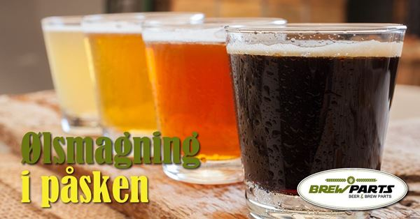 Påske ølsmagning ved BrewParts