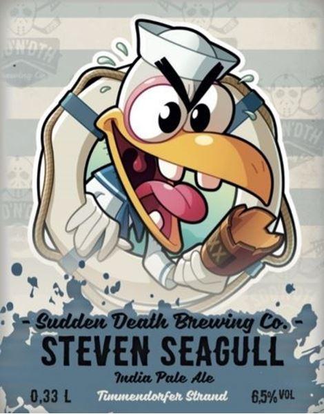 Billede af Steven Seagull - Sudden death brewing company
