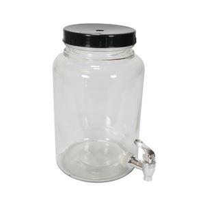 Gærringsbeholder På 5 Liter Udført I Glas