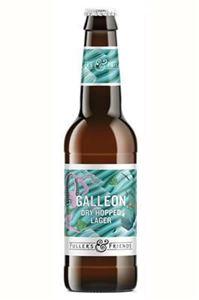 Billede af Galleon dry hopped lager - Fullers
