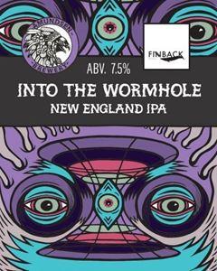 Billede af Into the wormhole New England Ipa- Amundsen bryggeri