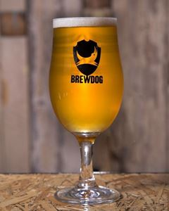 Glas Brewdog 1/2 Pint Stilk