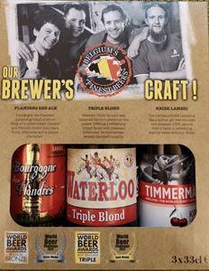 Gaveæske Med Belgisk Bedste Øl