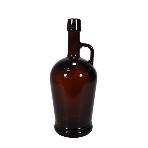 Stakitølflaske, 2 Liter, Amber (Ekskl. Prop)