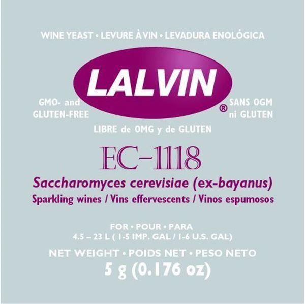 Lalvin EC 1118 - Gærbrev Med 5 Gram