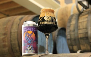 Octane Overlord - Russian IMP Stout - DeMoersleutel Brewery