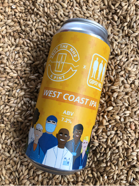 West Coast IPA - Gipsy Hill Brewing