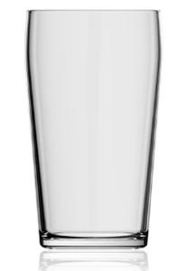 Brent Pint glas 500 ml Uden logo