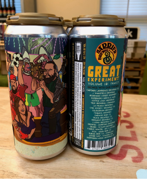 Great Experiment Vol 10 - NEIPA - Barrier Brewing