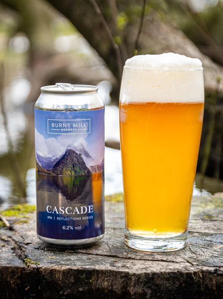 Cascade IPA - Burnt Mill Brewery