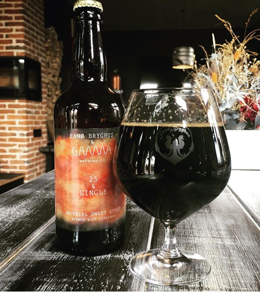 25 & Single - Imperial Sweet Stout - Fanø Bryghus & Gamma Brewing