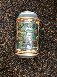 Salt Caramel Choc Chip Cookie - Barrel Aged Dessert In A Can - Amundsen Bryggeri
