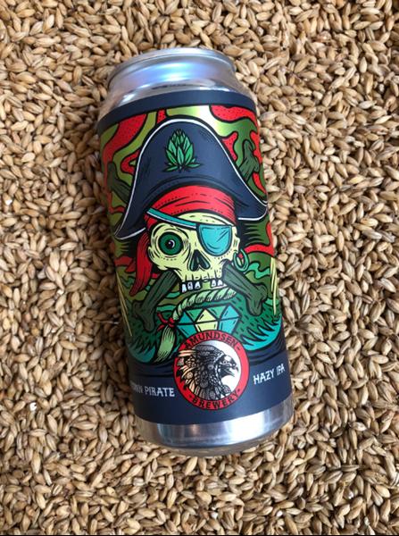 Downtown Pirate - Hazy IPA - Amundsen Brewery