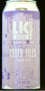 Coded Tiles - Pale Ale - Lic Beer Project