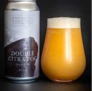Double Citra Fog - DIPA - Burnt Mill Brewery