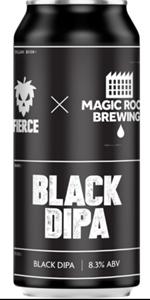 Black DIPA- DIPA - Fierce & Magic Rock Brewing