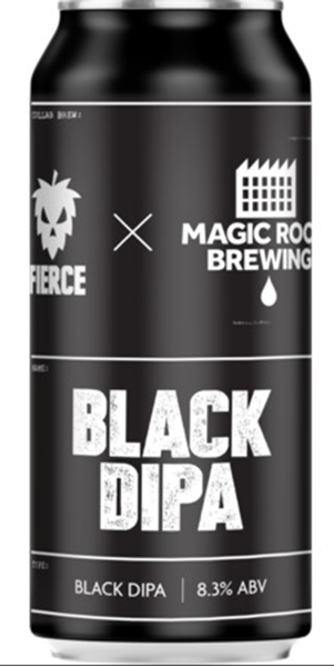 Black DIPA- DIPA - Fierce & Magic Rock Brewing